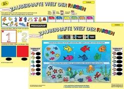 PRESSOGRAM Zaubertafel – Zauberhafte Welt der Farben von Stubenrauch,  Bernhard