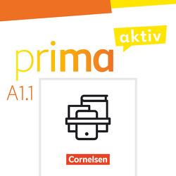 Prima aktiv – Deutsch für Jugendliche – A1: Band 1 von Jentges,  Sabine, Jin,  Friederike, Kothari,  Anjali