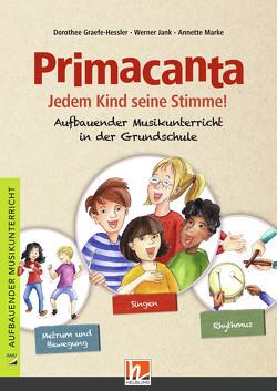 Primacanta. Lehrerhandbuch von Graefe-Hessler,  Dorothee, Jank,  Werner, Marke,  Annette