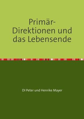 Primär-Direktionen und das Lebensende von Mayer,  Henrike