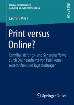 Print versus Online? von Merz,  Yasmin