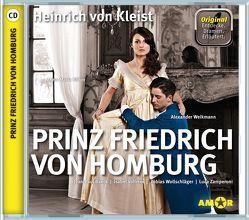 Prinz Friedrich von Homburg, wichtige Szenen im Original mit Erläuterung von Kleist,  Heinrich von, Petzold,  Bert Alexander