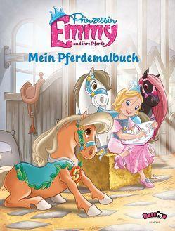 Prinzessin Emmy – Mein Pferdemalbuch