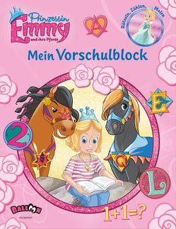 Prinzessin Emmy und ihre Pferde – Mein Vorschulblock