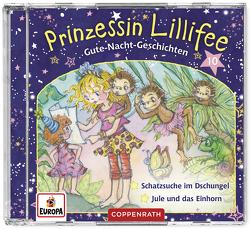 Prinzessin Lillifee – Gute-Nacht-Geschichten (CD 10) von Finsterbusch,  Monika, Nach einer Idee von Monika Finsterbusch