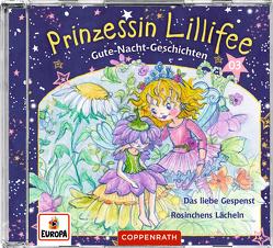 Prinzessin Lillifee – Gute-Nacht-Geschichten (CD 3) von Finsterbusch,  Monika, Nach einer Idee von Monika Finsterbusch