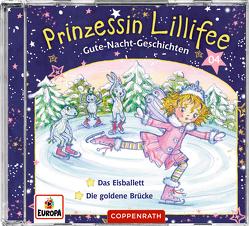 Prinzessin Lillifee – Gute-Nacht-Geschichten (CD 4) von Finsterbusch,  Monika, Nach einer Idee von Monika Finsterbusch