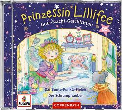 Prinzessin Lillifee – Gute-Nacht-Geschichten (CD 5) von Finsterbusch,  Monika, Nach einer Idee von Monika Finsterbusch