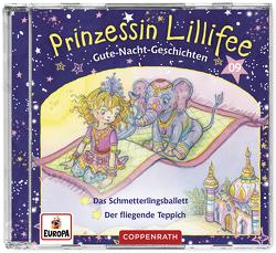 Prinzessin Lillifee – Gute-Nacht-Geschichten (CD 9) von Finsterbusch,  Monika, Nach einer Idee von Monika Finsterbusch