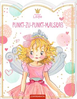 Prinzessin Lillifee: Punkt-zu-Punkt-Malspaß von Monika Finsterbusch