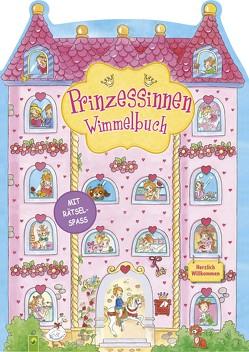 Prinzessinnen Wimmelbuch von Pohl,  Daniela