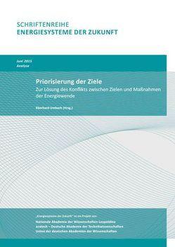 Priorisierung der Ziele von Umbach,  Eberhard
