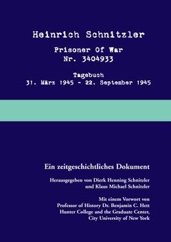 Prisoner of war von Schnitzler,  Dierk Henning, Schnitzler,  Klaus Michael