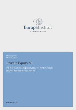 Private Equity VI von Gericke,  Dieter