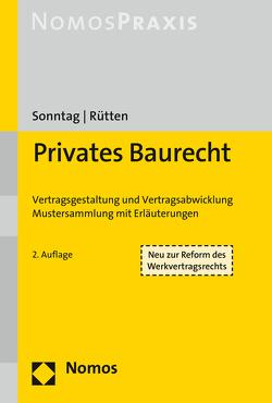 Privates Baurecht von Rütten,  Thomas, Sonntag,  Gerolf