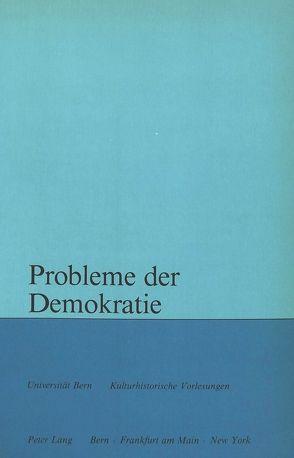 Probleme der Demokratie von Svilar,  Maja