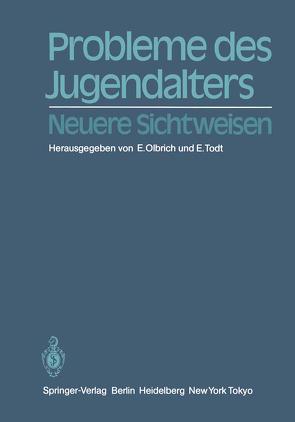 Probleme des Jugendalters von Olbrich,  E., Todt,  E.