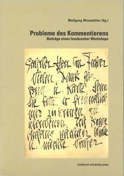 Probleme des Kommentierens von Wiesmüller,  Wolfgang