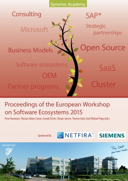 Proceedings of the European Workshop on Software Ecosystems 2015 von Buxmann,  Peter, Curran,  Thomas Aidan, Eichler,  Gerald, Jansen,  Slinger, Kude,  Thomas, Popp,  Karl Michael