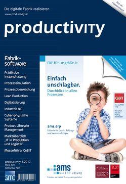 productivITy 1/2017 von Gronau,  Norbert