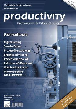 productivITy 1/2018 von Gronau,  Norbert