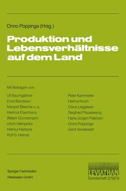 Produktion und Lebensverhältnisse auf dem Land von Popping,  Onno