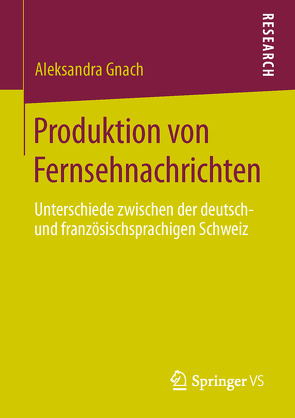 Produktion von Fernsehnachrichten von Gnach,  Aleksandra