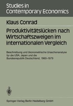 Produktivitätslücken nach Wirtschaftszweigen im internationalen Vergleich von Conrad,  Klaus