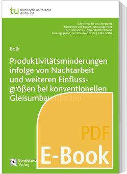Produktivitätsminderungen infolge von Nachtarbeit und weiteren Einflussgrößen bei konventionellen Gleisumbauarbeiten (E-Book) von Bolk,  Mark