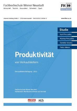 Produktivität von Verkaufsleitern von Pinczolits,  Karl, Pinczolits,  Marina, Vevera,  Daniela, Weiss,  Petra