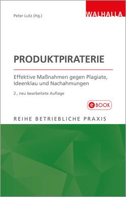 Produktpiraterie von Lutz,  Peter