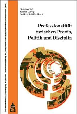 Professionalität zwischen Praxis, Politik und Disziplin von Hof,  Christiane, Ludwig,  Joachim, Schäffer,  Burkhard