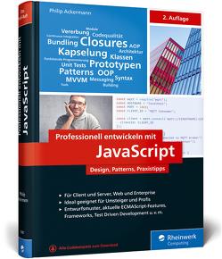 Professionell entwickeln mit JavaScript von Ackermann,  Philip