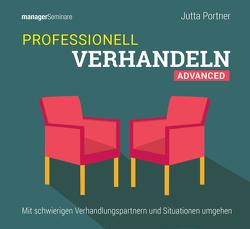 Professionell verhandeln – Advanced (Trainingskonzept) von Jutta,  Portner