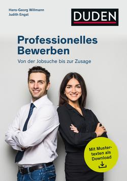 Professionelles Bewerben von Engst,  Judith, Willmann,  Hans-Georg