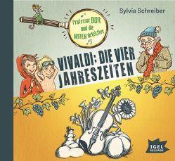 Professor Dur und die Notendetektive. Vivaldi: Die vier Jahreszeiten von Haase,  Matthias, Schreiber,  Sylvia