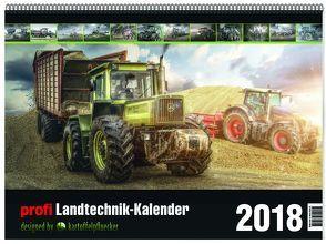 profi Landtechnik Kalender 2018 von Marco,  Borchardt