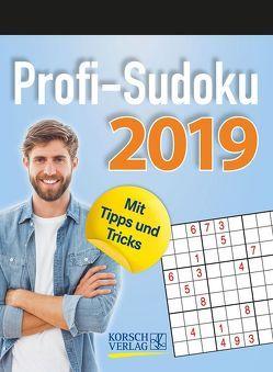 Profi Sudoku 2019 von Korsch Verlag