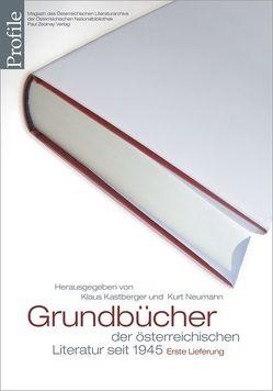 Profile 14, Grundbücher der österreichischen Literatur von Kastberger,  Klaus, Neumann,  Kurt