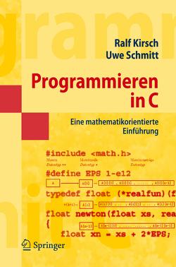Programmieren in C von Kirsch,  Ralf, Schmitt,  Uwe