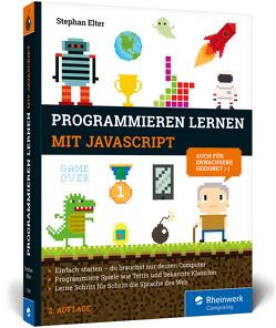 Programmieren lernen mit JavaScript von Elter,  Stephan