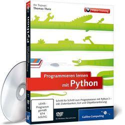 Programmieren lernen mit Python von Theis,  Thomas