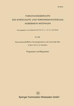 Progression und Regression von Schmölders,  Günter