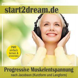 Progressive Muskelentspannung nach Jacobson (Kurzform und Langform) von Hoese,  Frank, Klippstein,  Nils, Wandelt,  Daniel