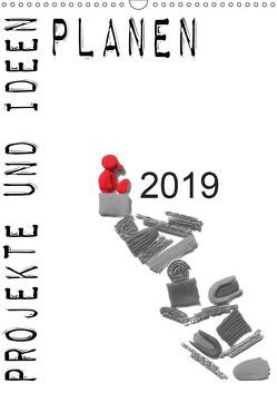 Projekte und Ideen planen (Wandkalender 2019 DIN A3 hoch) von Koepp,  Verena