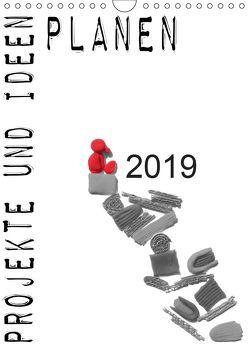 Projekte und Ideen planen (Wandkalender 2019 DIN A4 hoch) von Koepp,  Verena