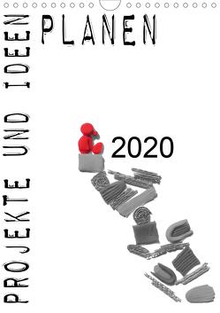 Projekte und Ideen planen (Wandkalender 2020 DIN A4 hoch) von Koepp,  Verena