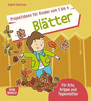 Projektideen für Kinder von 1 bis 4: Blätter von Gnettner,  Ingrid