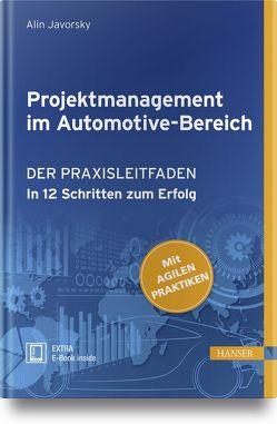 Projektmanagement im Automotive-Bereich von Javorsky,  Alin