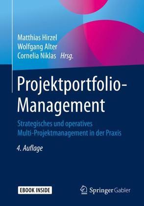 Projektportfolio-Management von Alter,  Wolfgang, Hirzel,  Matthias, Niklas,  Cornelia